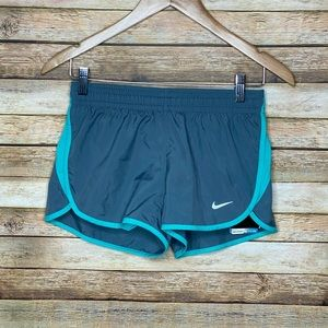 Nike| Dri Fit| Active Shorts| Grey&Mint Green| XS